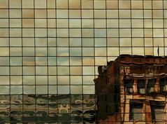 Reflection (.Carter.) Tags: urban distortion reflection building window washington action exploring wa tacoma urbanexploring distort platinumphoto diamondclassphotographer flickrdiamond goldstaraward damniwishidtakenthat