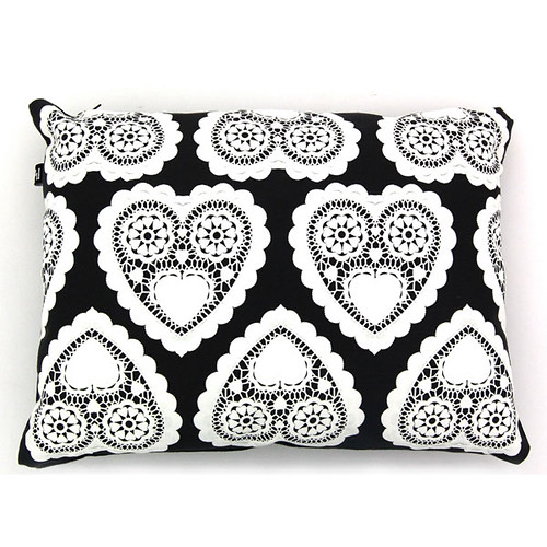 doily pillow at lama