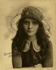 Sincerely Olive Thomas (Bodie Bailey) Tags: california history star famous hollywood familyphotos silentmovies olivethomas idabailey christiestudios