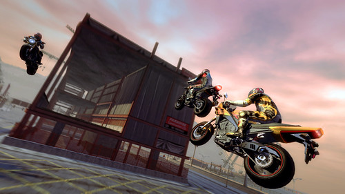 Burnout: Multiplayer Jump