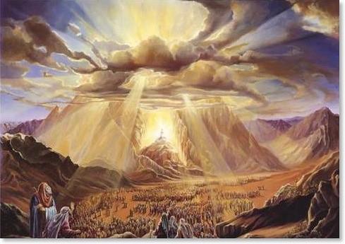 Dios da Su Ley en el Monte Sinaí NEOATIERRA