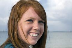 DSC_3312 (Patti Sullivan Schmidt) Tags: smiling redhair youngwoman allrightsreserved collegeage copyrightpatriciaschmidt