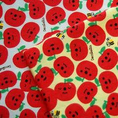 Japanese Apples (melanie gray augustin (Kimono Reincarnate)) Tags: fruit japanese fabric cotton kawaii apples decolello