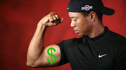 tiger woods, money, billionaire, earnings, athlete, cash