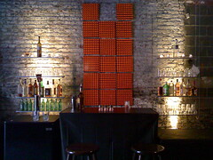"""Secret"" Nightclub (joannatillman) Tags: bar nightclub bartender artdirection"