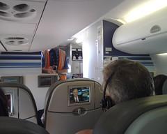 Embraer 190 Cabin