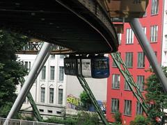 Wuppertal Schwebebahn 07 (Howard_Pulling) Tags: germany suspended monorail wuppertal hpulling howardpulling