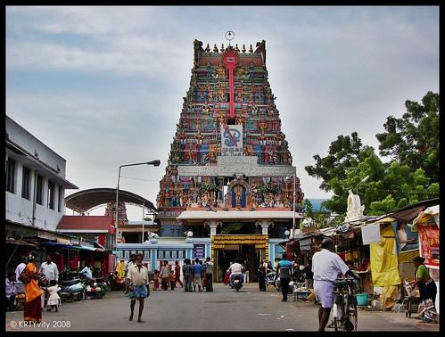 Vadapalani Temple - Front Gopuram