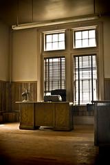 Office Lost in Time (crashmattb) Tags: abandoned nashville state decay tennessee prison urbanexploration jail tennesseestateprison canoneosdigitalrebelxti sigma1770mmf2845dc