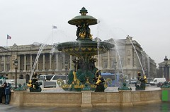Fountain on Place de la Concorde (BrokenClouds) Tags: paris fountain placedelaconcorde