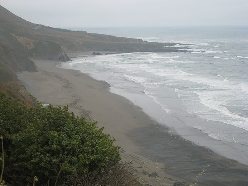 Coastline above Fort Bragg