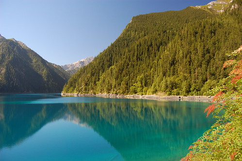 Long lake, Jiuzhaigou