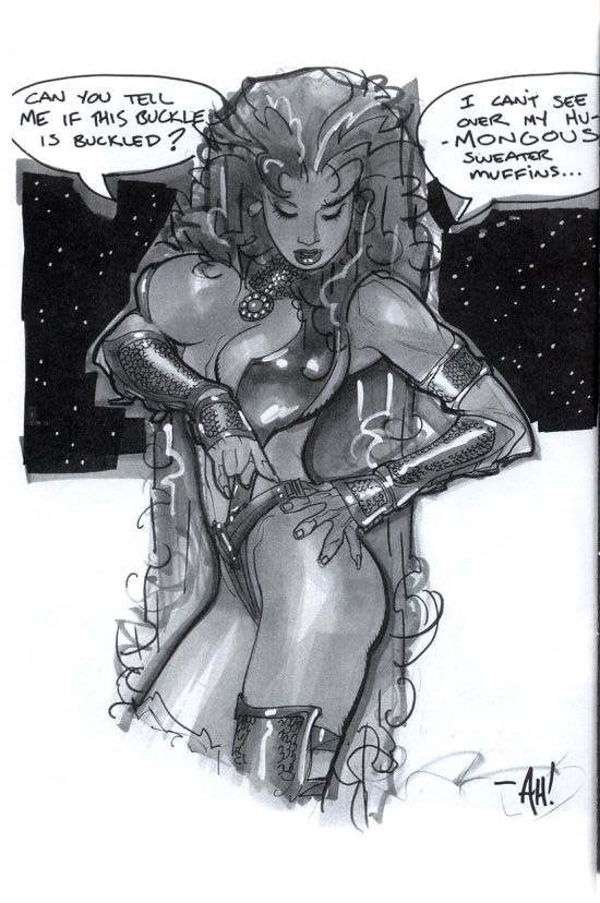 Starfire (Adam Hughes Sketchbook, 2008)