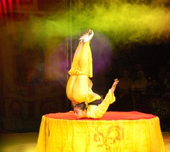 Contortionist, Chinese State Circus (Niall Corbet) Tags: china