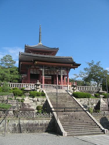 Kiyomizu - Pagoda