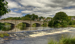 Creebridge Newton Stewart - HDR - revised (Uncle Berty) Tags: uk bridge england sports water sport scotland stewart watersports berty 2008 brill bucks hdr newton smalls hp18 creebridge robfurminger
