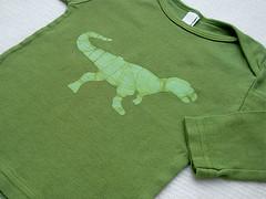 Dark Green Dino