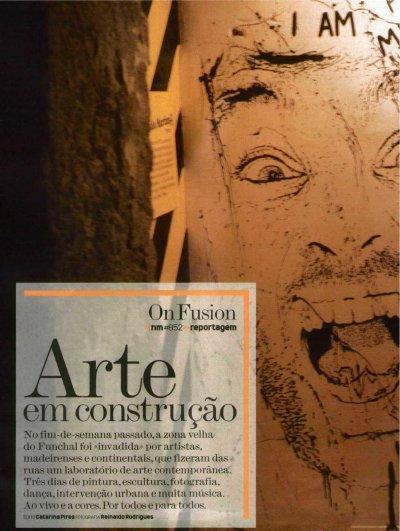 ON 2008 - Noticias Magazine - Arte em construcao
