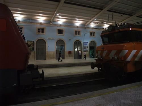 Comboios parados