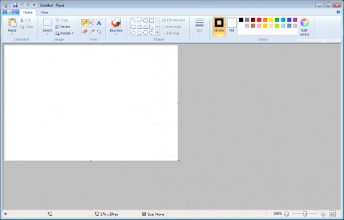 Paint do Windows 7