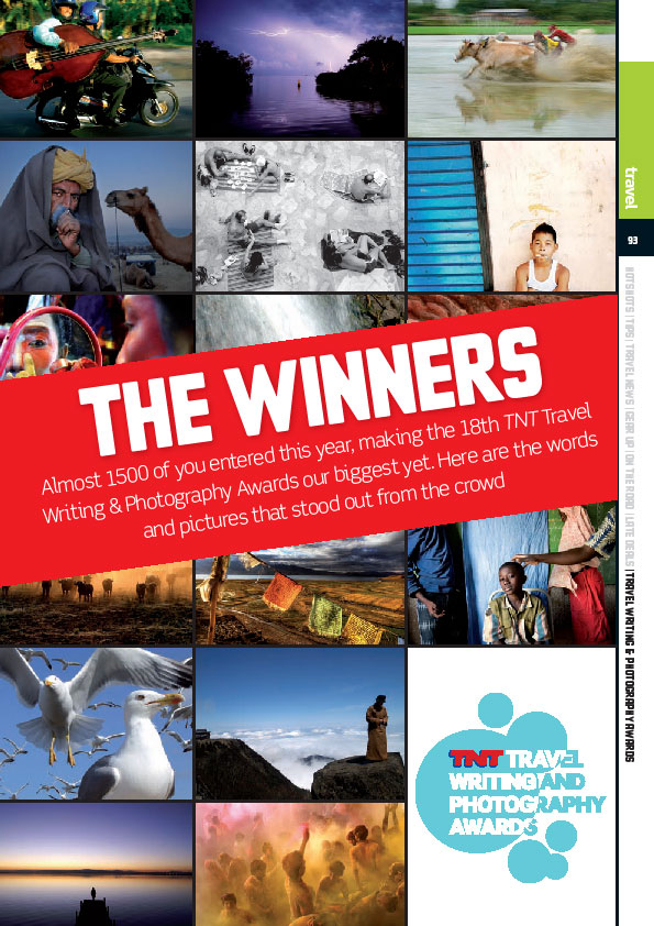 TNT Magazine London 18th Travel Writing and Photography Awards Winners