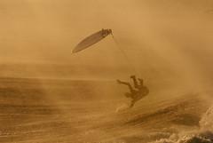 Splashdown (ScottS101) Tags: california beach october surf waves pacific wind action surfer smoke air huntington surfers santaana fires swell olas surfistas huntingtonbeach 2007 windstorm