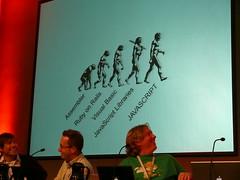 The evolution of Javascript