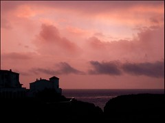 Forcat Sunset (Amy Lloyd) Tags: pink sunset silhouette spain purple explore 101 menorca galdana forcat
