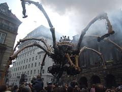 La Machine (paulwhitepics) Tags: giant spider machine giantspider liverpoolcapitalofculture2008 lamachine giantmechanicalspider liverpoolcapitalofculture laprincess thinkofacolour