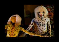 Leopards in Huli vesha (Canon_Vision) Tags: india canon drums dance stageshow karnataka infosys folkdance dasara mangalore 24105 lseries dakshinakannada southkanara canon400d hulivesha tigerdance canon24105mmf4lisusmlens kiransham