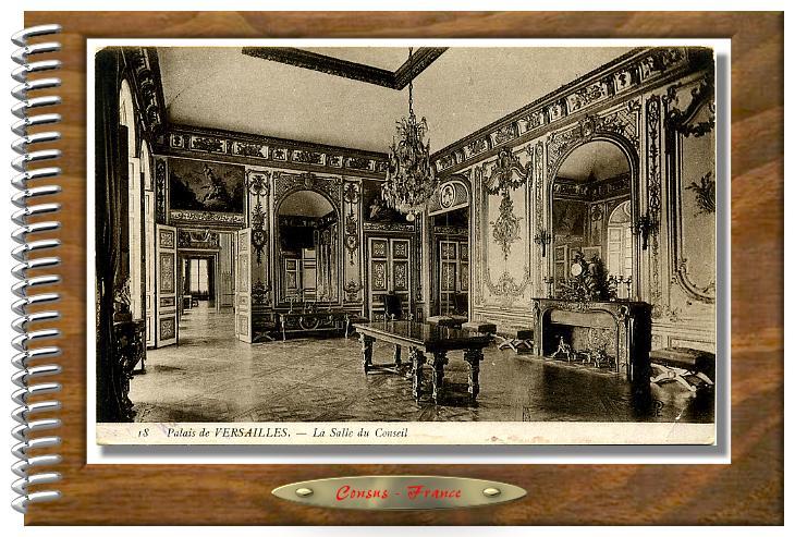 18 Palais de VERSAILLES La salle du Conseil