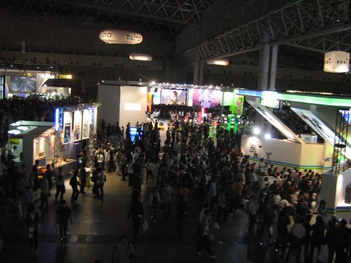 The crowd in Tokyo Game Show 2008