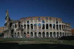Colosseum, Rome (Maira Wenzel) Tags: italy rome roma europa europe italia colosseum coliseum colosseo coliseu flavianamphitheatre views100