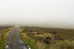 Dimension X (Michelle in Ireland) Tags: road ireland dublin field grass rain misty fog path badweather dublinmountains challengeyouwinner pathscaminhos