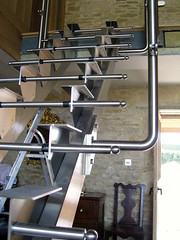 bespoke stainless staircase (brightweld fabrications) Tags: bristol spiral steel staircases stainless aluminium glasswork fabrication thekla