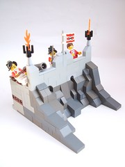 The fort (Krrde) Tags: village lego pirates pillage