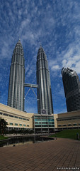 Outdoorgraphy™: KLCC @ Vertical Pano 2