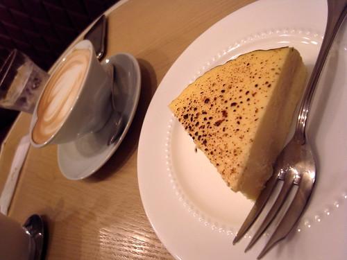 チーズケーキ(天現寺カフェ)