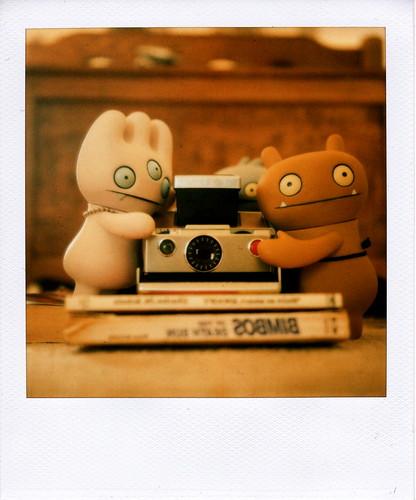 Uglydolls stole my polaroid