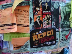 Repo Promoting in downtown Berkeley by shellEProductions