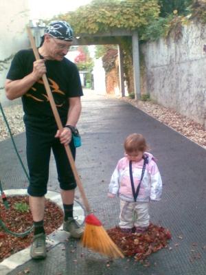 Opi hat eine Lena-Marie eingepflanzt