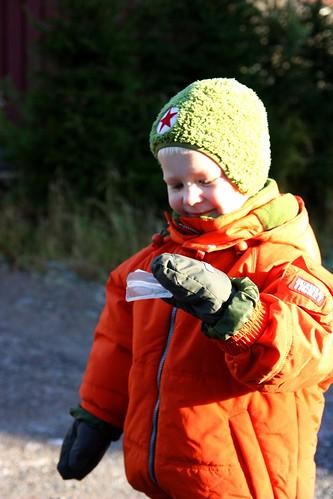 Niilo found some ice!