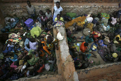Congolese seeking refuge