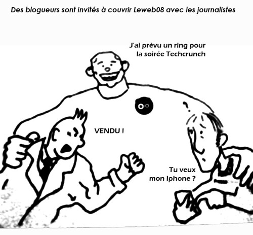 blogueurs vs journalistes: picture blogueurs vs journalistes by danielbroche