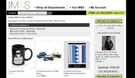 M&S continue shopping options