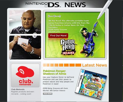 Nintendo DS News Email – November 2008