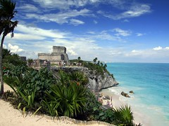 Tulum, Mayan City On The Carribean (Butch Osborne) Tags: travel mexico ancient maya tulum carribean mayan traveling mustsee magnificant hisorical ancientcity yuccatan westerncarribeancruise2006 bucketlist