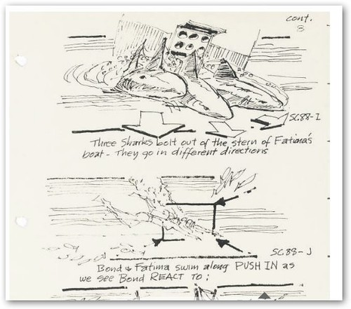 James Bond Storyboard
