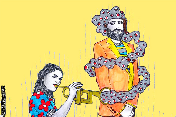 Angus and Julia Stone by SUPERSWEET Magazine