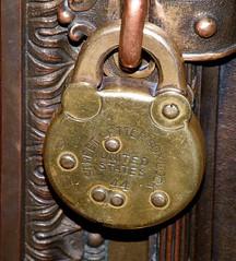 Street letterbox lock